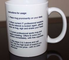 Blue Jean Networks Denim Tough Business Smart FUNNY IT Coffee Tea Mug