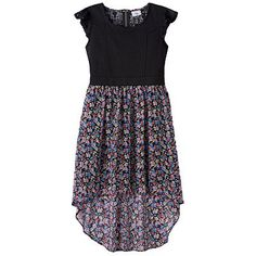 Disney D-Signed Floral Lace High-Low Dress - Girls 7-16