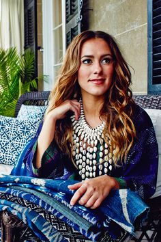 ibu Movement | Cowry Shell Necklace with Kantha Jacket and Vintage Textiles