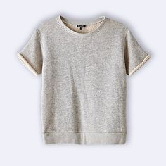 DANE SHORT SLEEVE SWEATSHIRT / steven alan