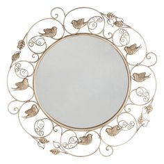 Bird Wall Mirror, Other Clrs