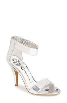 Free shipping and returns on Jeffrey Campbell 'Hough' Open Toe Pump (Women) at Nordstrom.com. A slender ankle strap secures a glamorous open-toe pump set on a slender, wrapped heel. Proprietary cushioning makes this stylish must-have feel as great as it looks.