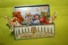 handmade miniature scale toys | Miniature Toy Chest Artist Handmade Filled With Many Toys OOAK 1:12 ...