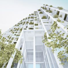 Vijayawada tower by Penda will feature modular elements that residents can personalise