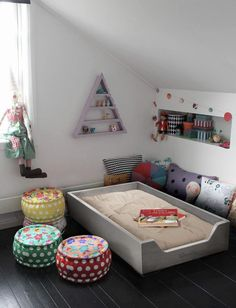 Love this bed, it has sides but is still child independent.