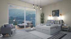 good morning - Modern - Bedroom - by levai_magdolna