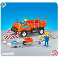 Playmobil Construction Truck - Limited Edition Expansion for Construction Playset @ $15.99