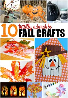 10 Totally Adorable Fall Crafts #ad