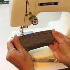 04 Elastische Stoffe wie Jersey mit der Naehmaschine naehen