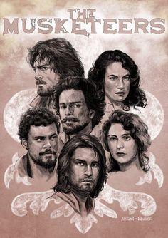 The Musketeers fan art