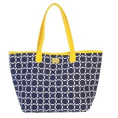 Ame & Lulu Ladies Easy Tote Bags - Canary