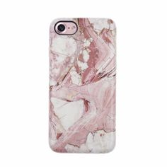 iPhone 7 Plus cases. Marble Case for iPhone 7 Plus. TPU material that wraps around and rises past screen. Full Protection against drops and when face down Iphone Se, Coque Iphone 7 Plus, Apple Iphone, Cute Cases, Cute Phone Cases, Iphone 7 Plus Cases, Capas Iphone 6, Accessoires Iphone, Trends