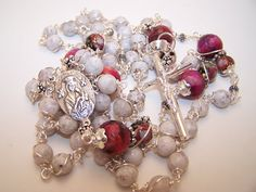 Etsy Rosary Guild Team: Robert's Heirloom Rosaries presents the Rosary Of ...