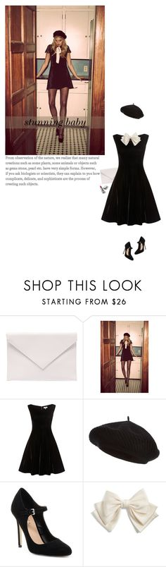 """""""stunning baby"""" by mimas-style ❤ liked on Polyvore featuring Verali, Harrods, Mixx Shuz, Cara and Burberry"""