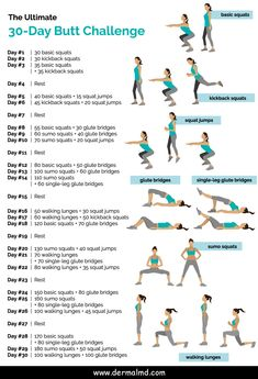 workout plan for beginners . workout plan to get thick . workout plan to lose weight at home . workout plan for men . workout plan for beginners out of shape . workout plan for beginners for women 30 Day Butt Challenge, Monthly Workout Challenge, Glute Challenge, Workout Calendar, Health Challenge, Crunch Challenge, Squat Challenge For Beginners, Weekly Workout Schedule, Weight Loss Challenge