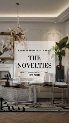 Unique Furniture, Furniture Design, Luxury Penthouse, Shoe Storage Cabinet, Luxury Interior Design, Dream Rooms, Apartment Design, Contemporary Design, Living Room Furniture