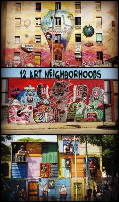 """Barcelona, Bushwick, Buenos Aires - Check out """"12 International Art Neighborhoods That Will Inspire You"""" on BuzzFeed!"""