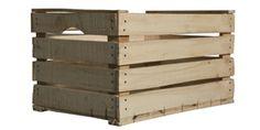 cassetta in legno segato
