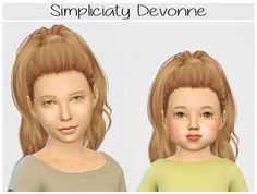 Simpliciaty-cc Devonne hair edit at Simiracle • Sims 4 Updates