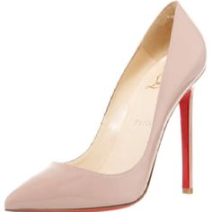 Pigalle, by Christian Louboutin.  Perfect go to pump.    Bergdorg Goodman.