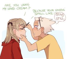 hc that maka uses make-up maybe twice a year and even then makes soul do it for her is one of my favorites Soma Soul Eater, Soul Eater Funny, Soul Eater Manga, Soul Eater Evans, Anime Soul, Anime Life, Soul And Maka, Fullmetal Alchemist Brotherhood, Noragami