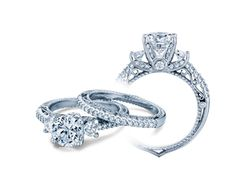 Say yes to the ring!!! VENETIAN-5023R engagement ring from The Venetian Collection of diamond engagement rings by Verragio
