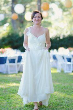 Photography: Allison Reisz Photography - allisonreiszphotography.com  Read More: http://www.stylemepretty.com/southeast-weddings/2011/12/27/backyard-hilton-head-wedding-from-allison-reisz-photography/