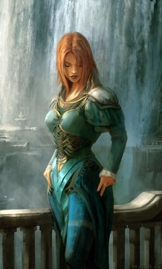 Alena Eyre, the Red Fury, Incarnation of Firia, Princess of the Elvenh Peoples, Celestia, The Crimson Flame of Adwaleia