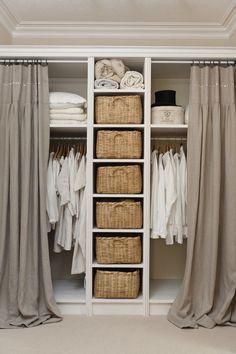 Apartment Storage Closet Organization Shelves Ideas For 2019 Diy Wardrobe, Wardrobe Storage, Bedroom Wardrobe, Wardrobe Design, Built In Wardrobe, Closet Storage, Bedroom Storage, Closet Organization, Diy Bedroom