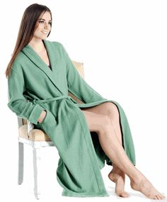 Worth the room in your luggage: Pure Cashmere Robe for Women