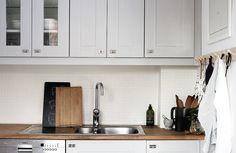 Budgetrenovera kök, måla luckor – Husligheter