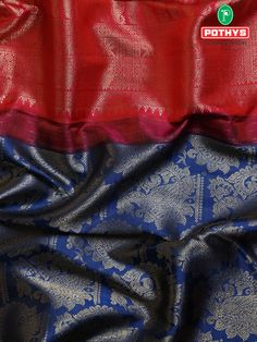 Samudrika silk sarees with the perfect blend of blue and red color gives the saree a vibrant feel and the contrast combination of colors in the pallu gives your whole look a different emotion. #ethnicsarees #grandsaree #silksaree #puresilk #saree #traditionalsaree #sareedesigns #sareestyles #weddingsaree #puresilksaree #sareedraping #sareelooks #sareeforteenagers #draping#samudrikasilksarees #samudrikasarees #handloomsaree #pattusaree #bridalsaree #muhurthamsarees #sareeembroidery…