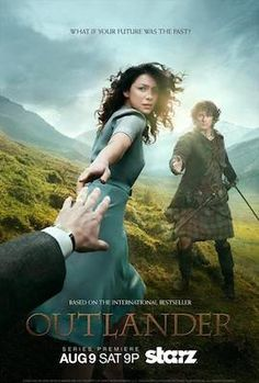 Outlander (2014– ) - Stars: Caitriona Balfe, Sam Heughan, Tobias Menzies.  -  Follows the story of Claire Randall, a married combat nurse from 1945 who is mysteriously swept back in time to 1743, where she is immediately thrown into an unknown world where her life is threatened.  -  DRAMA / ROMANCE / SCI-FI