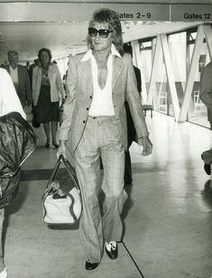 Rod Stewart, London Airport 1976