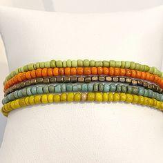 Bohemian Soul 5 Individual Beaded Bracelet Set Stretch | Etsy Stack Bracelets, Beaded Bracelets, Bohemian Soul, Bracelet Set, Friendship Bracelets, Etsy, Jewelry, Jewlery, Bangle Set