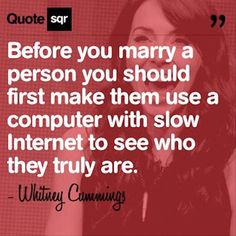 Before you marry a person…
