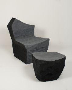 Cut foam furniture b