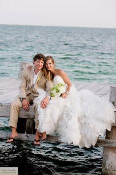 Beach Wedding #wedding #love #beachwedding #beach #ideas #theme #nautical