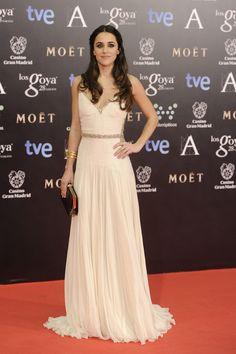 Premios Goya 2014. Macarena García vestida de Roberto Cavalli