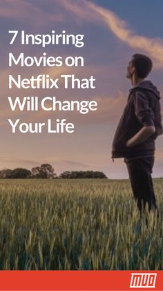 Apr 2020 - Movies are more than just popcorn flicks. Here are the most inspiring movies on Netflix that'll motivate you to change your life. Films On Netflix, Best Movies List, Netflix Movies To Watch, Movie To Watch List, Good Movies On Netflix, Movies For Boys, Tv Series To Watch, Good Movies To Watch, Netflix Hacks