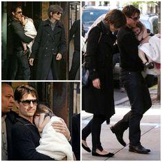 Hair - cabelo - pelo - beautiful - bonita - hermoso - moda - look - style - estilo - inspiration - inspiração - inspiración - fashion - elegant - elegante - chic - coat casaco - jeans - Dress - vestido - Shoes - sapato - Bonpoint - black - preto - sapatilha - kid - child - criança - baby - bebê - daughter - filha - hija - father - pai - padre - dad - papai - papá - mother - mãe - madre - mom - mamãe - mamá - happy family - família feliz - October - 2008 - Katie Holmes - Suri Cruise - Tom…