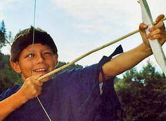 Bogenschiessen auf dem Indianerlager