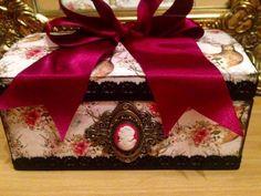 Large Rectangle Bambi Boutique Trinket Box £18.00