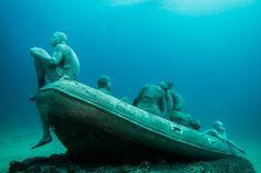 Le Museo Atlantico est le premiermusée sous-marin à ouvrir en Europe…