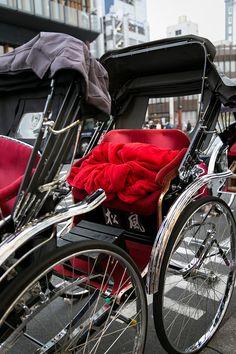 Rickshaw in Asakusa, Tokyo, Japan 浅草の人力車 Miss And Ms, All Japanese, Japan Travel Guide, Tokyo Japan, Japan Trip, Thats The Way, Okinawa, Dream Vacations, Kyoto