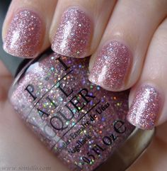 Sparkly OPI.