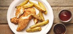 Kid Friendly Chicken Tenders. Crunchy yet moist chicken tenders are made with chicken tenderloin and Japanese Panko breadcrumbs.