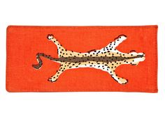 For Your Mom (Or Aunt, or MIL)- A bright eyeglass case she won't have to hunt for. Orange eyeglass case, $25; danagibson.com. Get more affordable gift ideas at redbookmag.com.