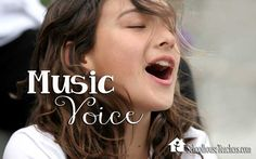 Welcome to the Music-Voice Lessons for the Entire Family on www.SchoolhouseTeachers.com by; Joy Sikorski