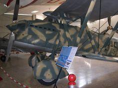 "Fiat CR32 ""Chirri"" Participó en la Guerra Civil española 1936-39 en el bando… Fiat, Ww2, Plane, Aircraft, Germany, War, Museums, Planes, Aviation"